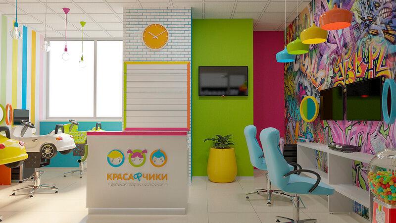 Открытие детской парикмахерской «Красафчики» в Москве
