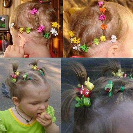 Причёски на короткие волосы ребёнку